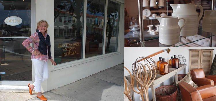 Faustina Pace Antiques Antique Row West Palm Beach