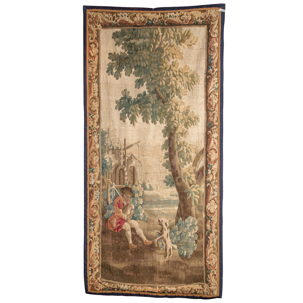 18th Century French Verdure Tapestry On Antique Row
