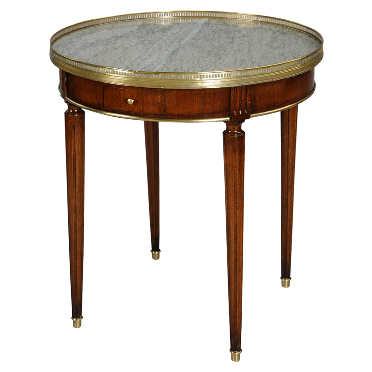 Fine bouillotte table on antique row west palm beach for Table 52 west palm beach