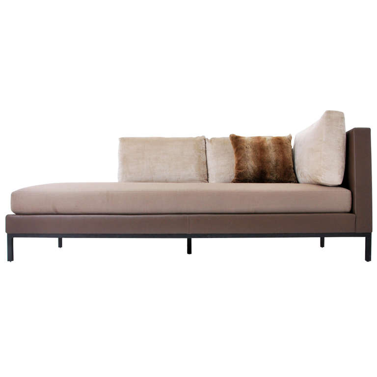 Christian Liaigre Sofa Daybed for Holly Hunt On  : 825167l from www.onantiquerow.com size 768 x 768 jpeg 47kB