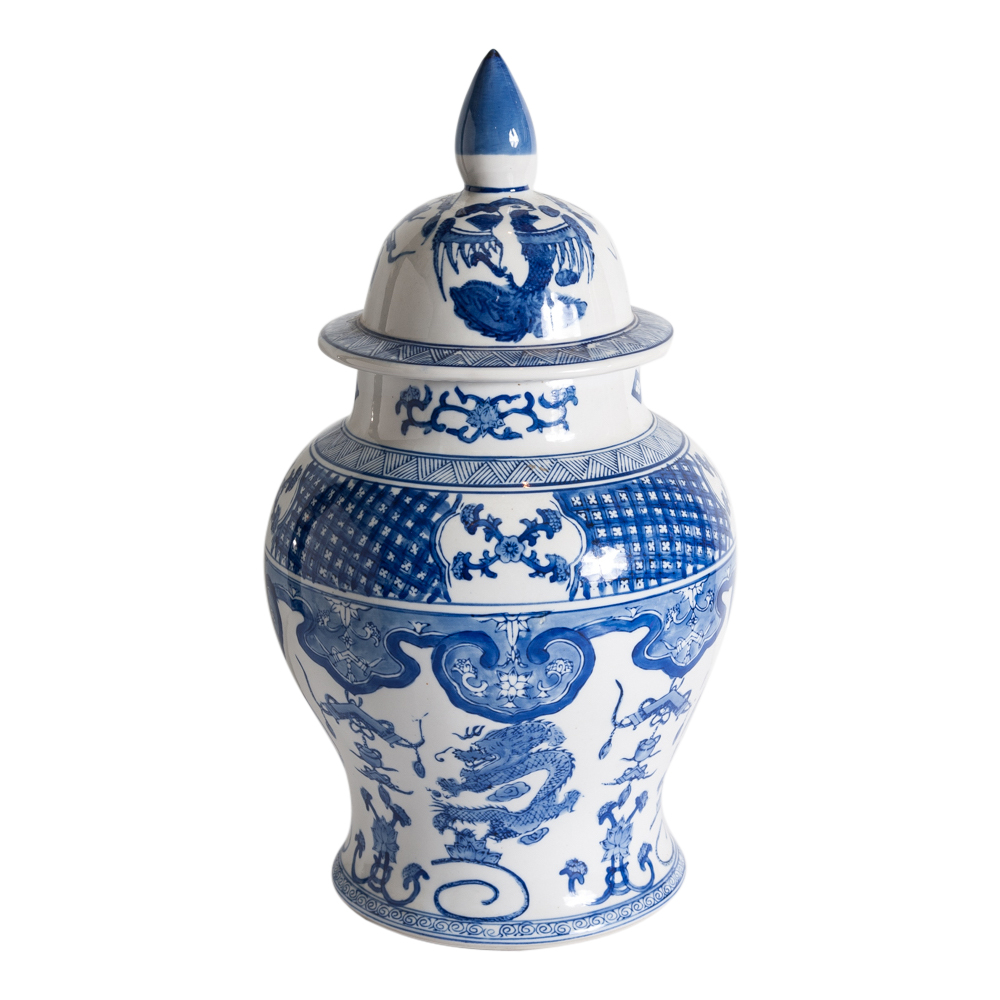 Oriental Vase On Antique Row West Palm Beach Florida