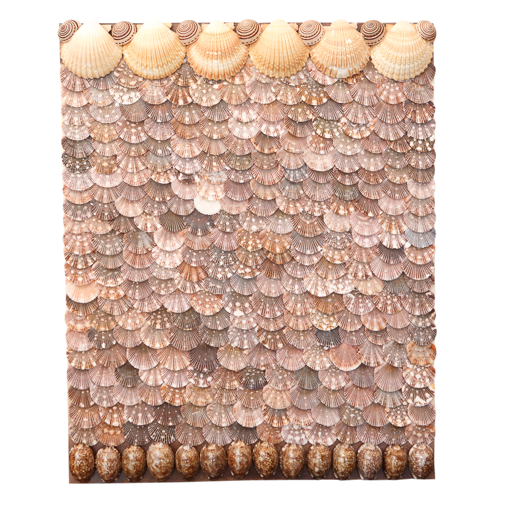 Custom Shell Wall Panels From Christa S South Antiques