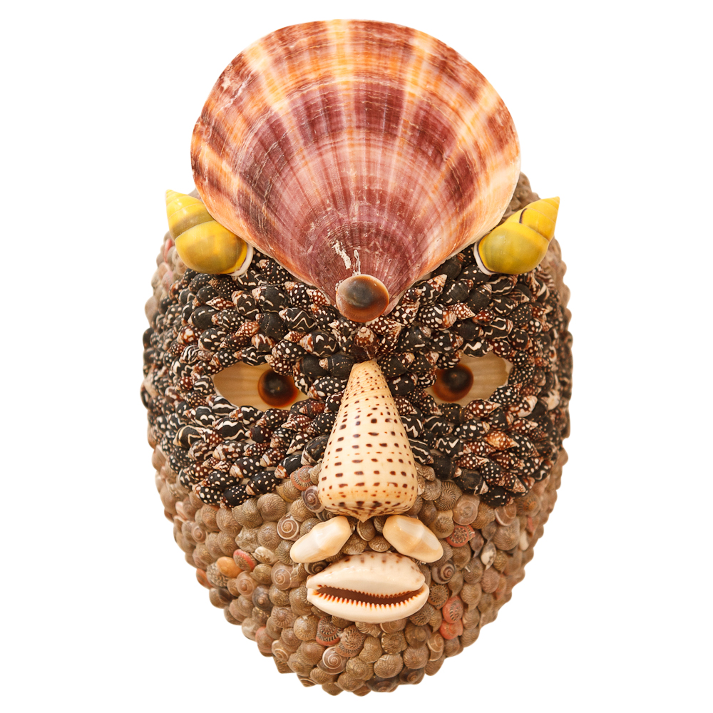 Seashell Mask After Arcimboldo On Antique Row West