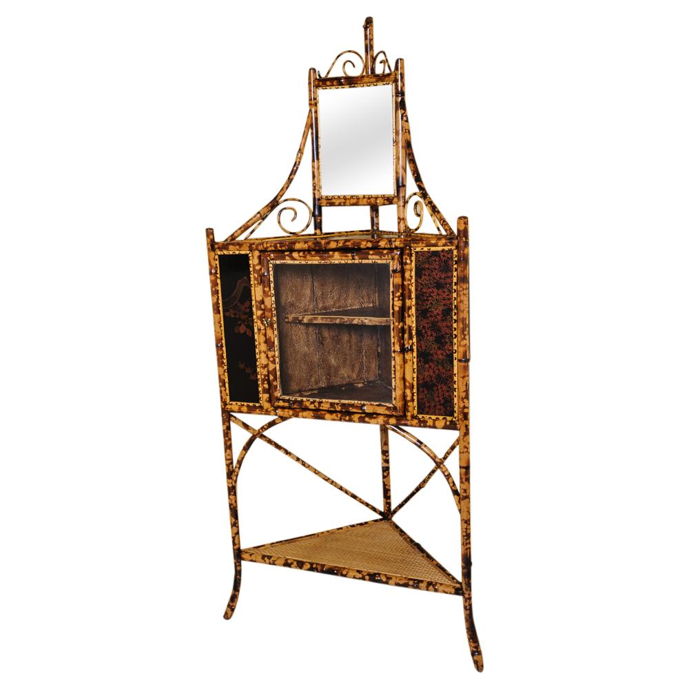 Bon Bamboo Corner Cabinet