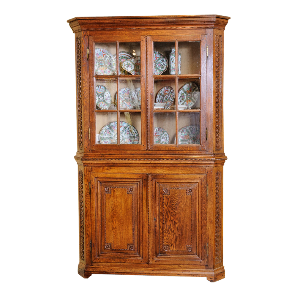Corner Cabinet On Antique Row West Palm Beach Florida