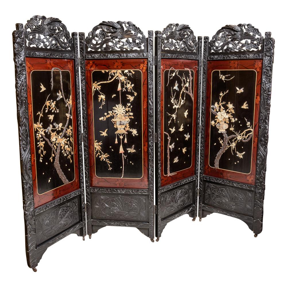 Oriental screen on antique row west palm beach florida for Asian antiques west palm beach