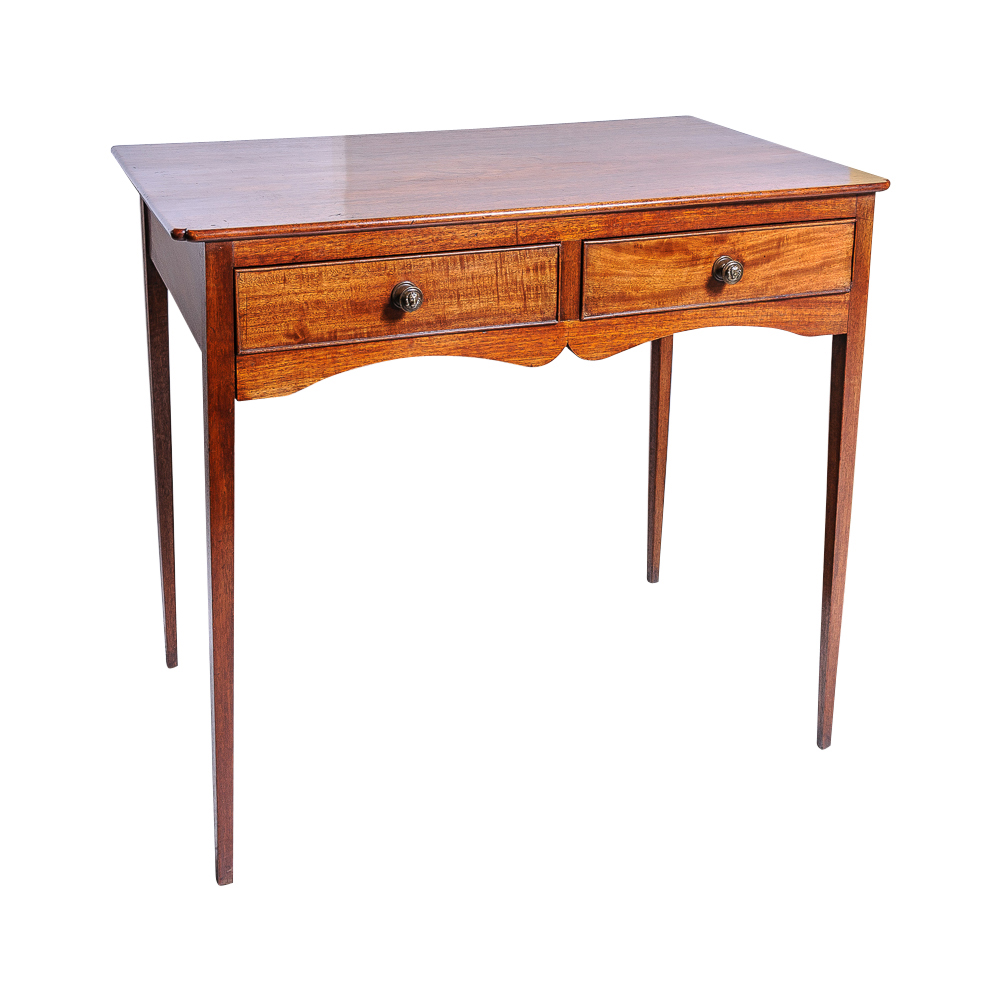 George iii writing table on antique row west palm for Table 52 west palm beach