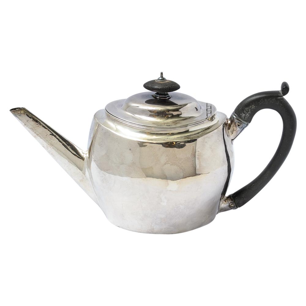 Silver Teapot On Antique Row West Palm Beach Florida