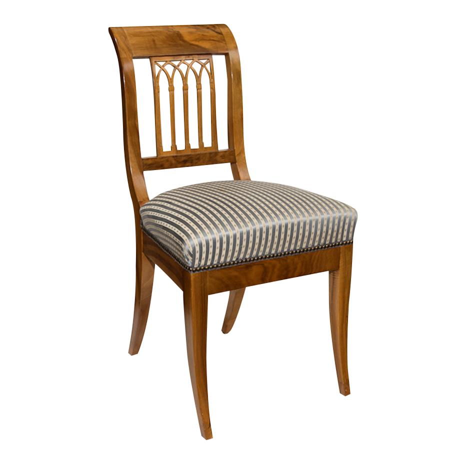 Set Of Six Antique Biedermeier Chairs On Antique Row West Palm Beach Florida