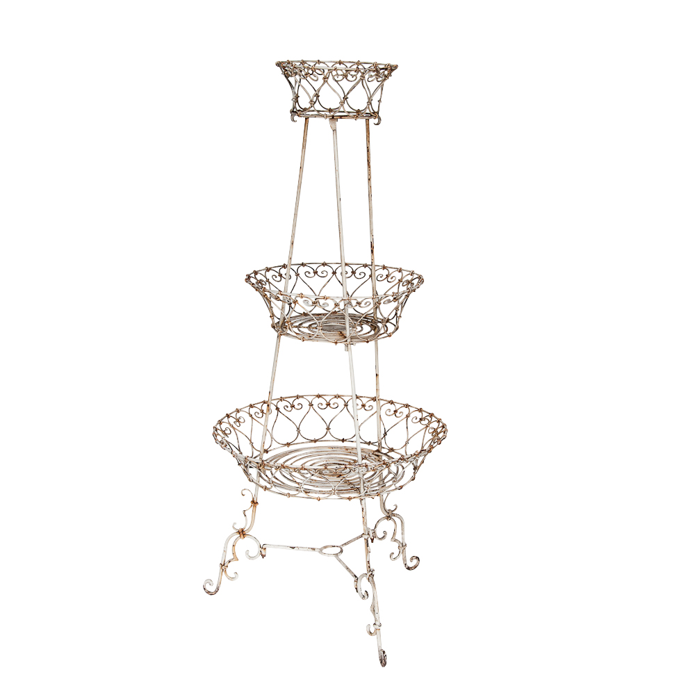 3 Tiered Garden Plant Stand On Antique Row West Palm