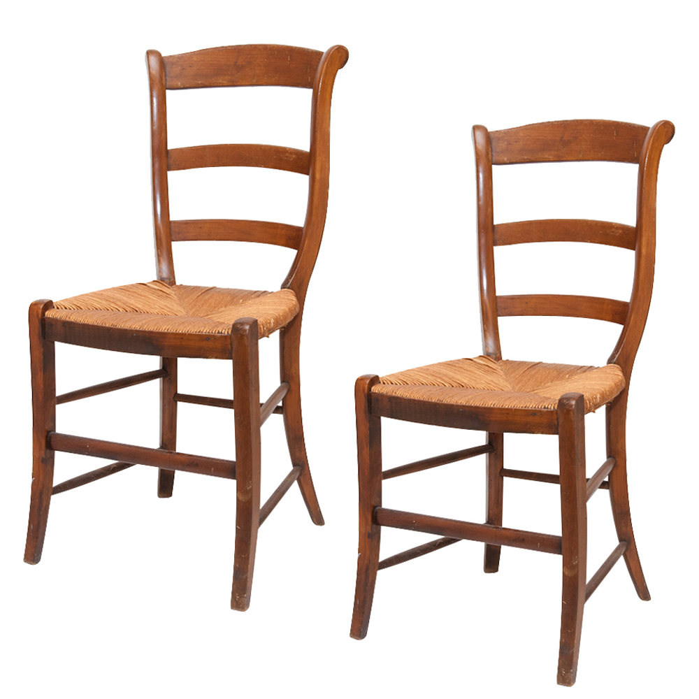 Antique Wooden Dining Chairs Antique Oak Wood Chair Press Back