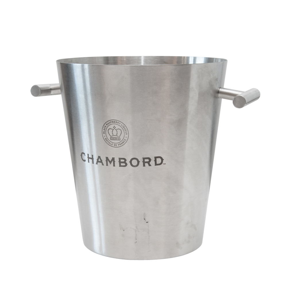 vintage chambord metal champagne bucket on antique row west palm beach florida. Black Bedroom Furniture Sets. Home Design Ideas