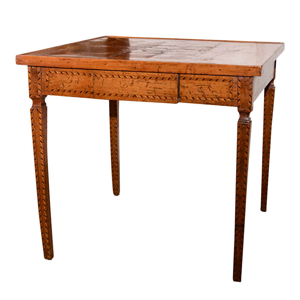 18th century italian table on antique row west palm for Table 52 west palm beach