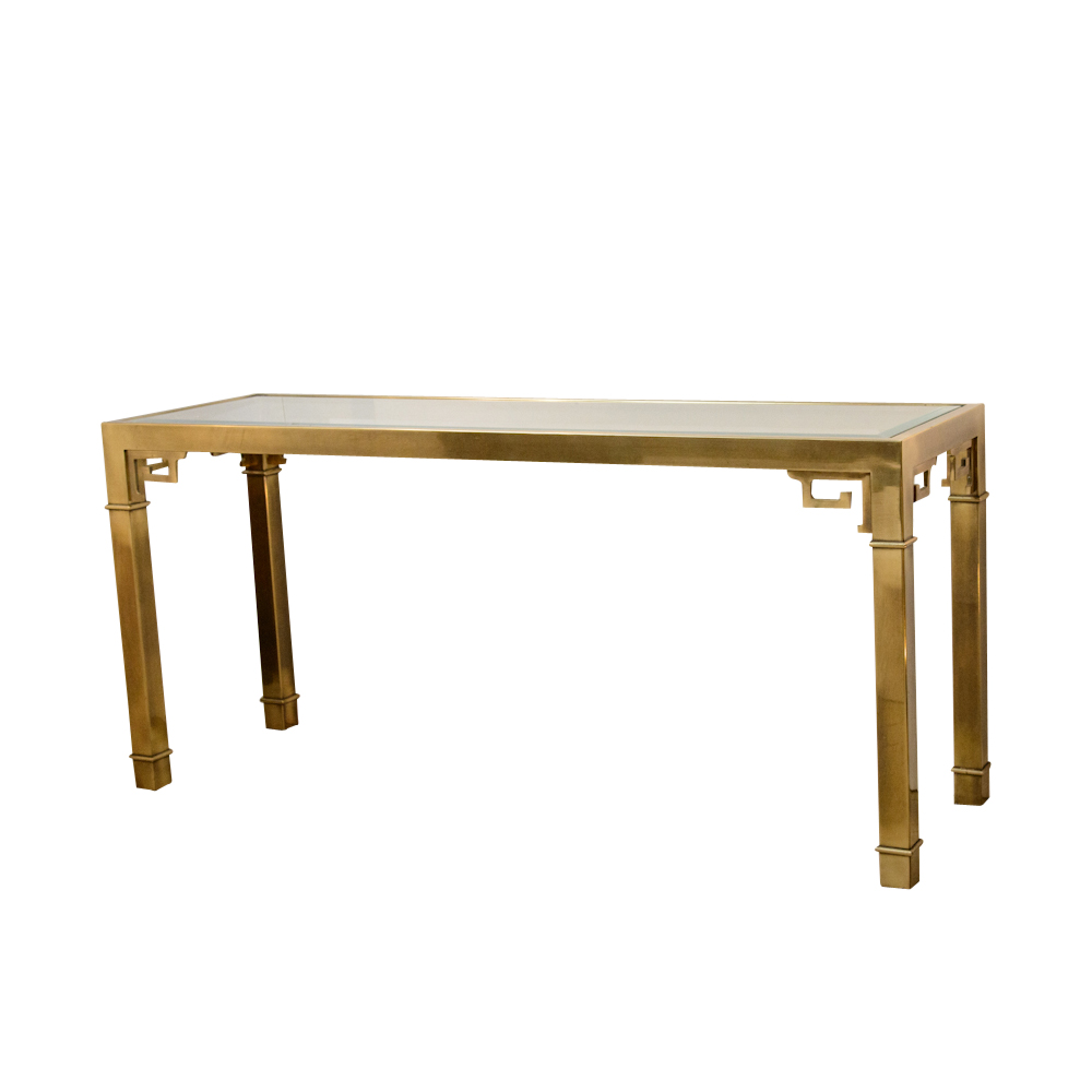Mastercraft console table on antique row west palm for Table 52 west palm beach