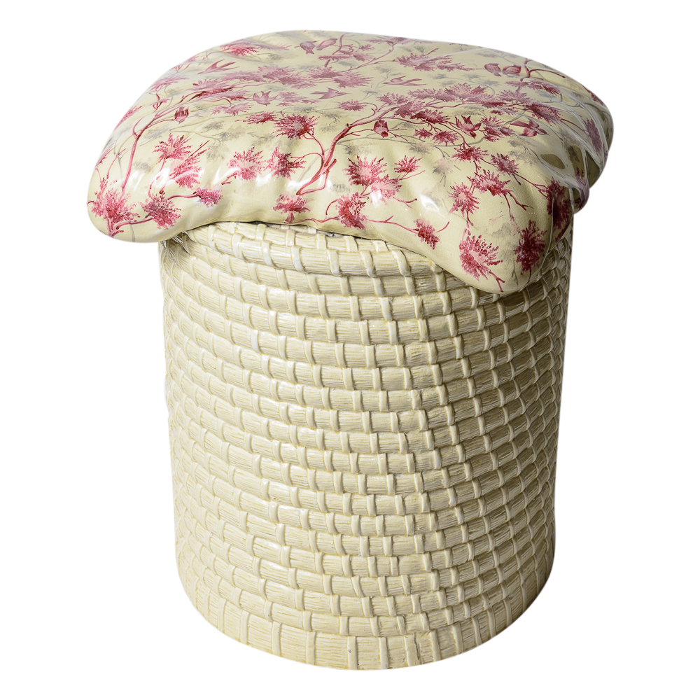Magnificent Rare English Ceramic Garden Stool On Antique Row West Ncnpc Chair Design For Home Ncnpcorg