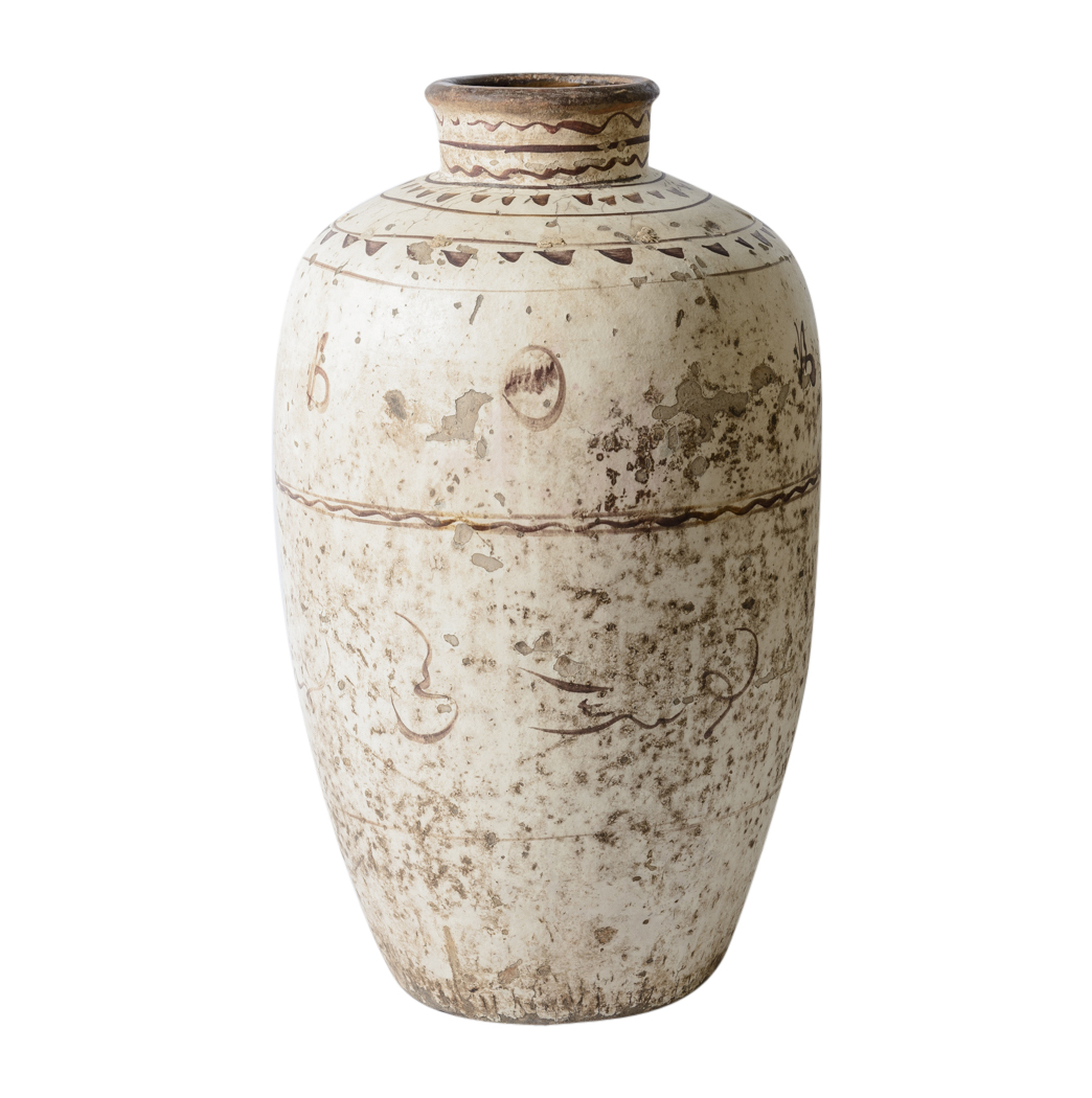 Large chinese glazed stoneware wine jar on antique row for Asian antiques west palm beach