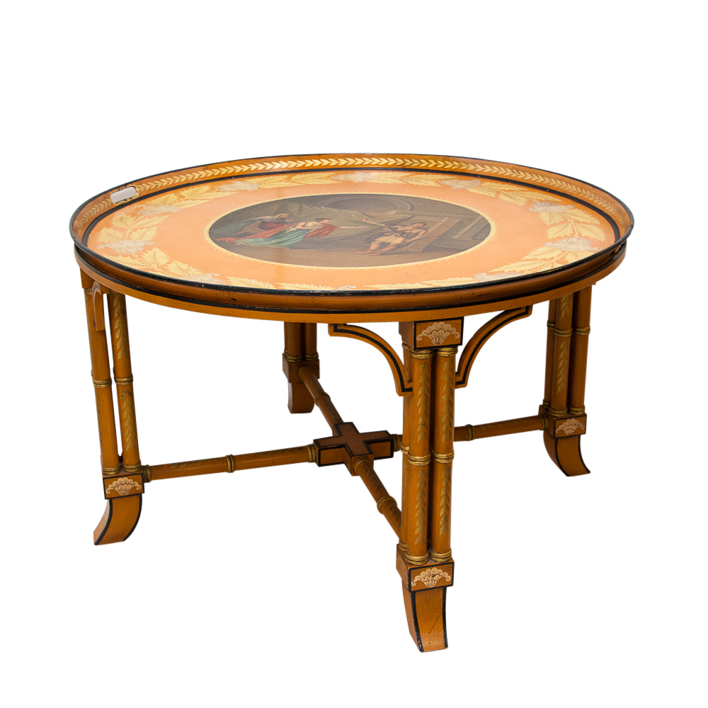 Antique coffee table on antique row west palm beach for Table 52 west palm beach