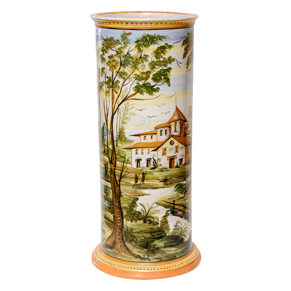 Porcelain Umbrella Stand On Antique Row West Palm