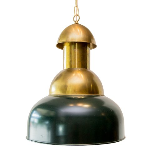Vintage Industrial French Pendant Ceiling Light : On
