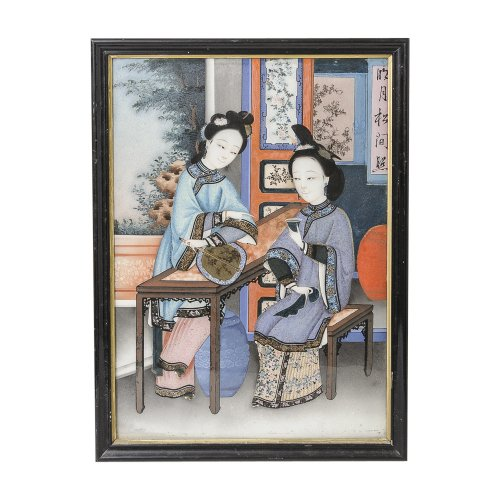 Painting on antique row west palm beach florida for Asian antiques west palm beach