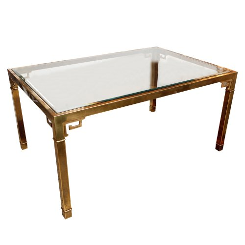 Hollywood Regency Mid Century Modern Mastercraft Table In