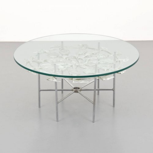 Donald drumm coffee table on antique row west palm for Table 52 west palm beach