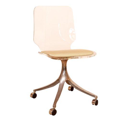 Vintage Lucite Desk Chair Antique Row West Palm