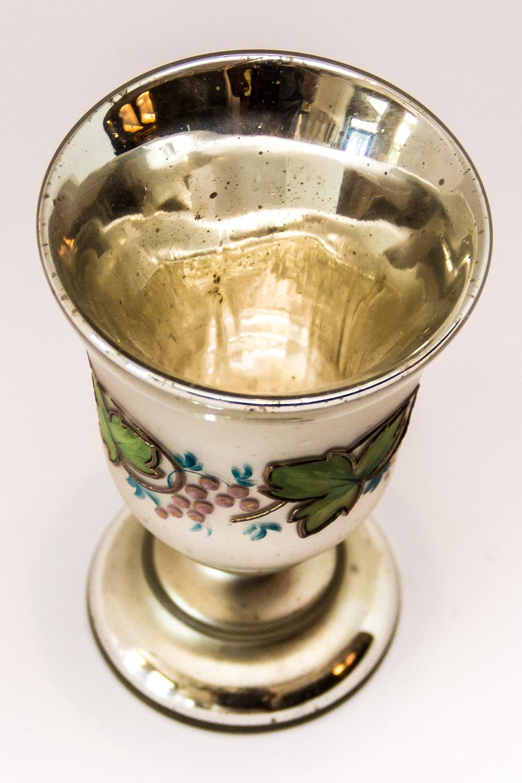 Antique Mercury Glass Goblet On Antique Row West Palm