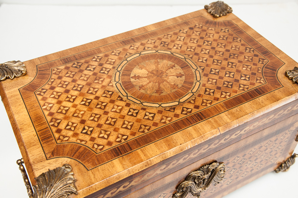 Vintage Maitland Smith Decorative Box On Antique Row
