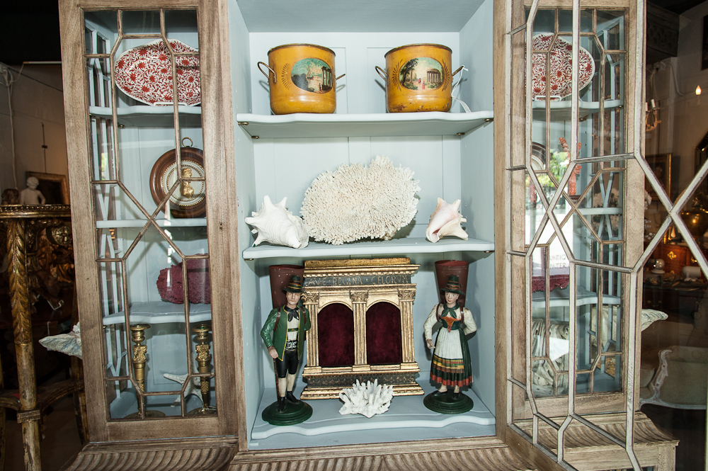 Chinese chippendale bookcase on antique row west palm for Asian antiques west palm beach
