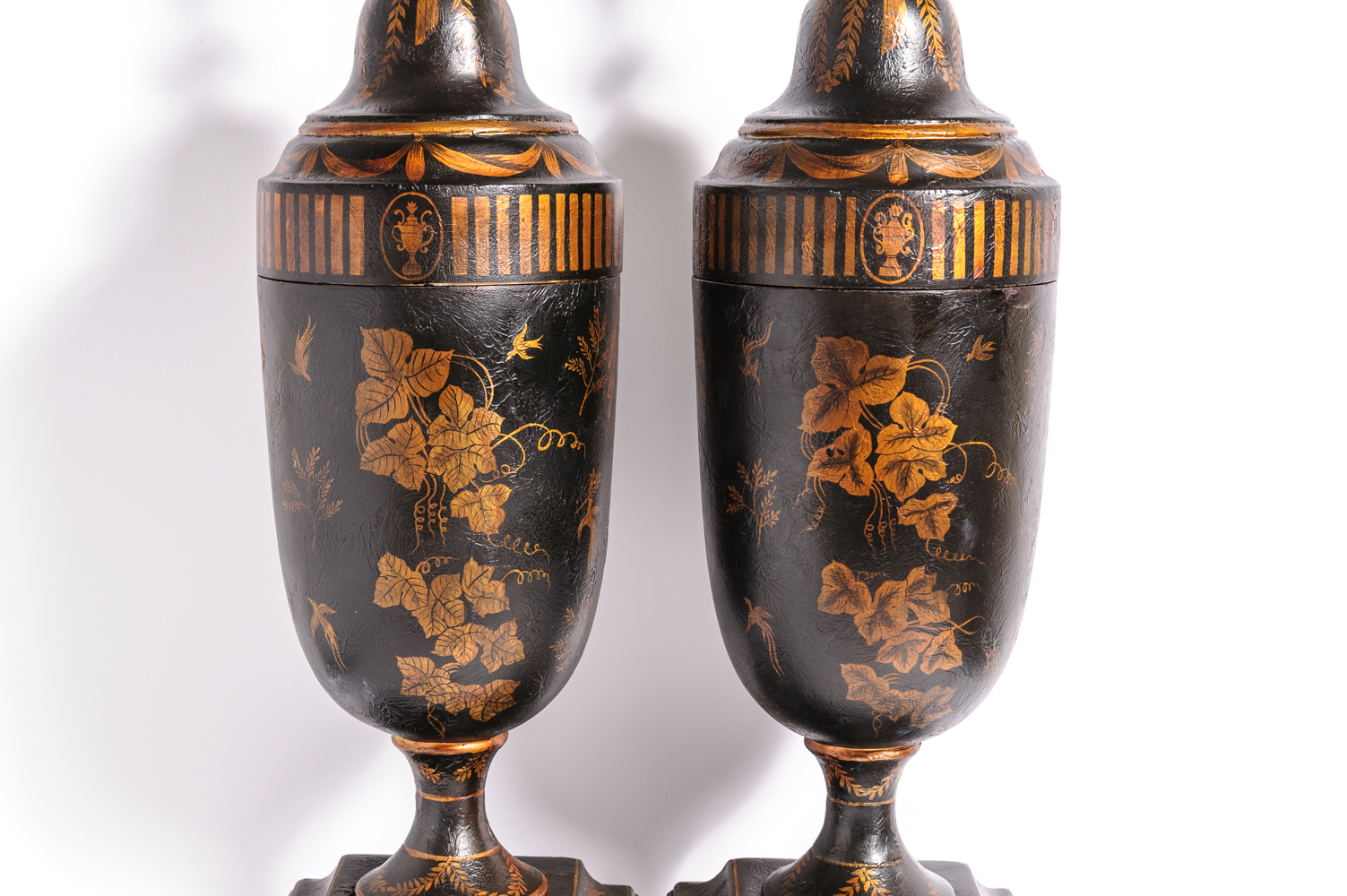 Pair Of Urns On Antique Row West Palm Beach Florida