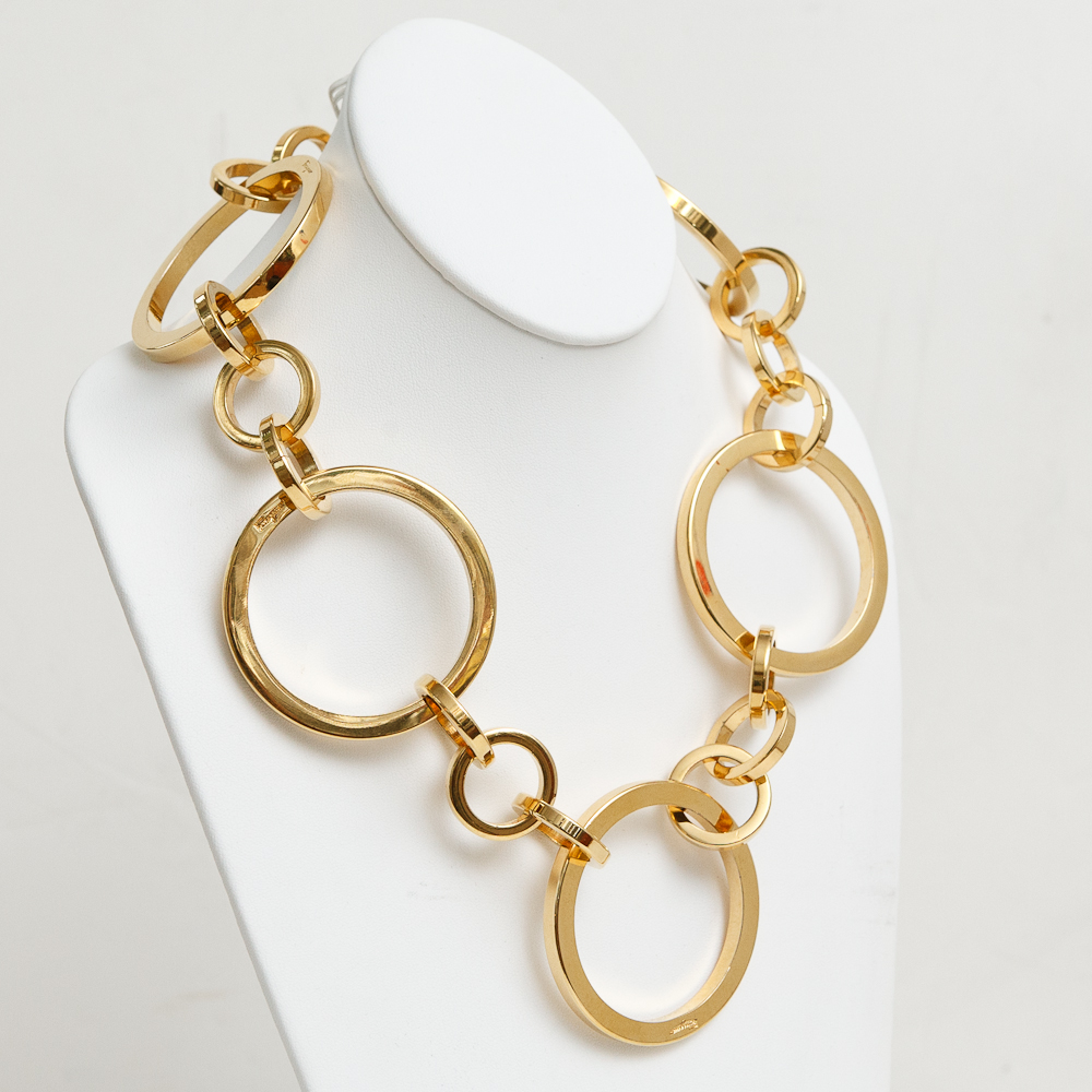 vintage ferragamo ring necklace on antique row west