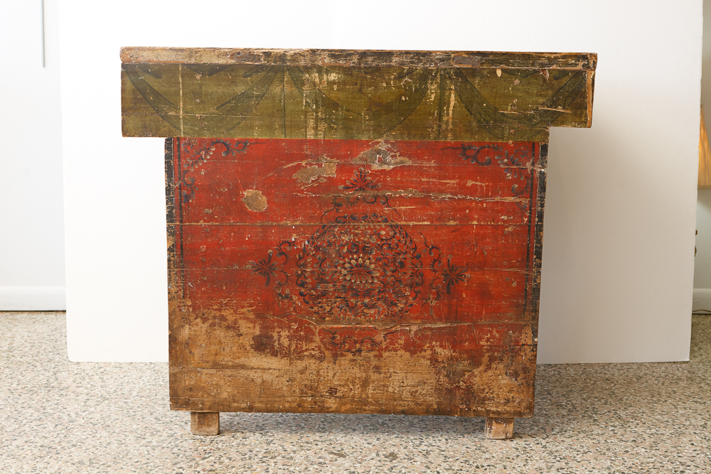 Antique chinese chest in original paint on antique row for Asian antiques west palm beach