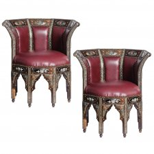 Intricate Hande Made Chairs (pair)