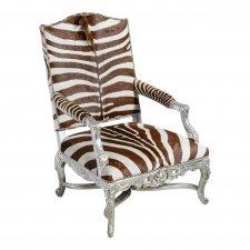 Zebra Skin Chair